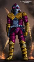 Hondo MacLean's Exosuit by Colourbrand