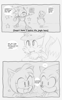 Sonic got Amy Pregnant Pg 9 by sonicxamy09