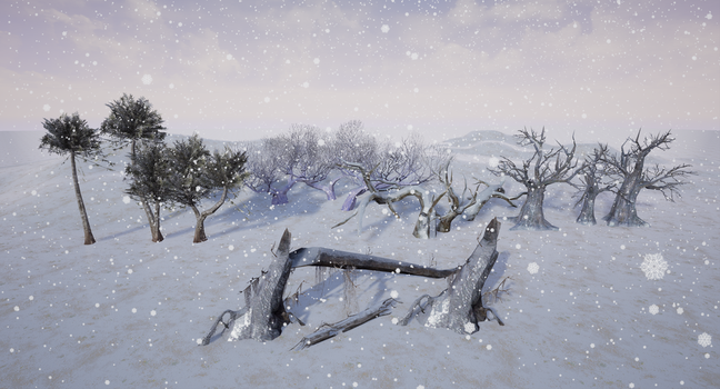 Snow by Uyil17