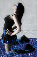 . glitter and Manson dress . by Countess-Grotesque