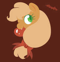Applebat by giantsquidie
