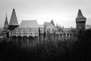 Corvin Castle by Destroth