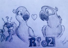 RIO 2 (April 2014) by SammfeatBlueheart