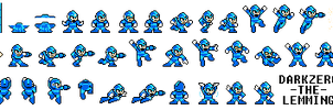 Classic X sprite sheet by Zero-Janitor