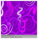 Stroked Swirls Brushes by Scully7491