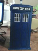 Doctor who tardis by Veto81