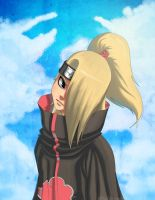 In the Sky-Deidara by C-radS