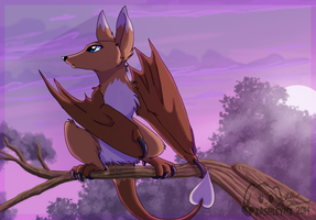 Watching From The Tree Top by xAshleyMx