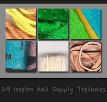 29 100x100 Art Supply Textures by VacantBeauty