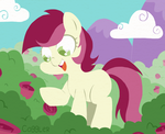 Roseluck's Discovery by FrogAndCog