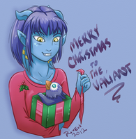 Merry X-Mas to The Valiant 2012 by ladyriven
