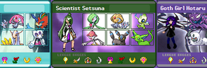 Outer Senshi Trainer Cards by shinrah
