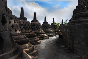Path of the Borobudur by TimothyG81