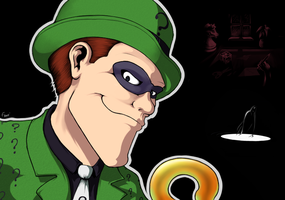 The Riddler: Logic's Clue by Frario