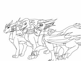 Skylanders-Tour of Skylands lineart by ShardianofWhiteFire