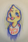 Let`s Eat with Chica The Chicken by MikiChanNeko