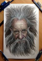 Old Man Chaos by AtomiccircuS