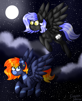Night Flight by graphite-demon-99