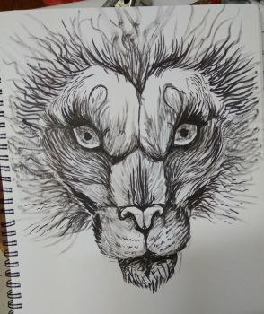 Lion by GauthamHail