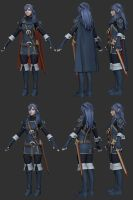 Fire Emblem Awakening - Lucina - WIP by TheStoff