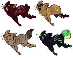 Free Derp Kitters Adopts CLOSED by InfectedZombieX