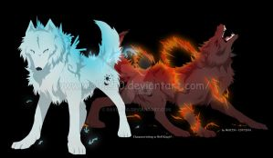 Ice and Fire. by StarkHolmes