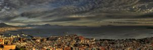 sunsetovernapoli by uurthegreat