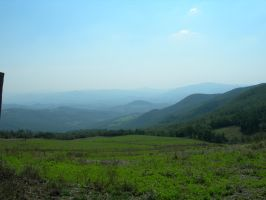 View over Tuscany by kuschelirmel-stock