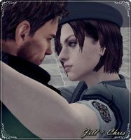Jill x Chris by xxAlbert-Wesker