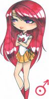 .Sailor Dark Mars Ares. by Glory-Day