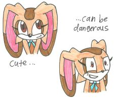 Cream, cute but dangerous by cmara