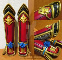 Samurai Warriors 4 Kai-hime : Arm Bracers by jaRoukaSama