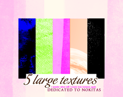 5 Large Textures by innocentLexys
