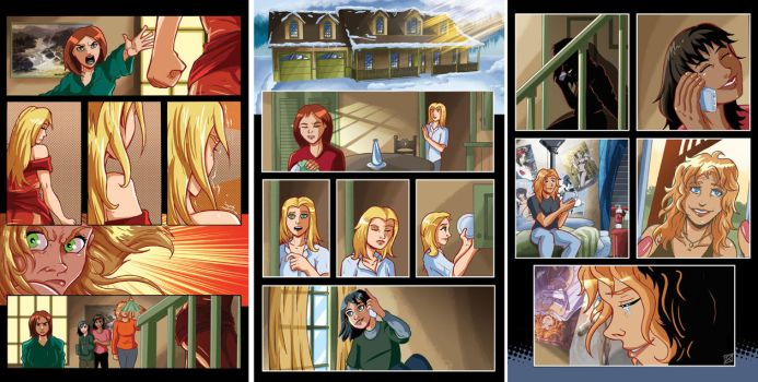 Rival Angels Xmas Pages 13-15 by MachSabre