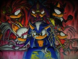 Sega Demons by CindyCandy100