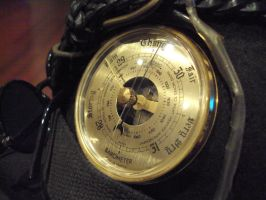 Barometer and Wiring Steampunk Top Hat v3 by HappyOrwell
