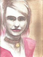 Watercolor Study: Maria by lys2313