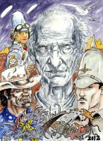DND Paris : Tribute to Jean Moebius Giraud by emalterre