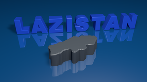 Lazistan 3d map by SkudasLazepe2012