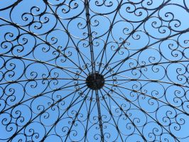 Ringling Rose Garden structure by jelbo