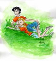 Percabeth days by FlooPurple201
