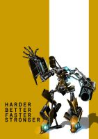 Harder Better Faster Stronger by Idioluck