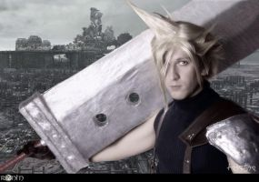 Cloud Strife by Taichia-Photo