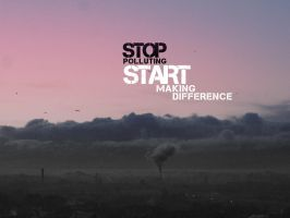 Stop the pollution by T4Del