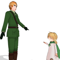 APH MMD England and usarisa by Phantom-Ichigo