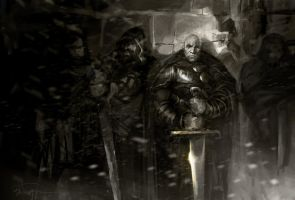 The Night's Watch by RiceandEggs