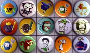 Button Designs - Whatta think? by RayArray