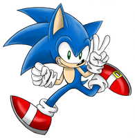 Sonic The Hedgehog by SonicSpeedz