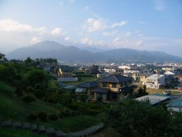 7 Clicks Tuesday - Iida, Japan by JeanneABeck