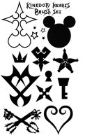 Kingdom Hearts Brushes by codename-scarecrow